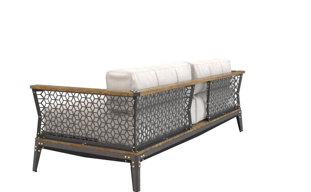 Designed & made from top quality raw wood, metal, and leather, our avantgarde Industrial style Metal and Iron Furniture will add excitement to your Home Decor